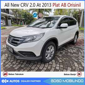 All New CRV 2.0 At 2013 Plat AB Orisinil Bisa Kredit