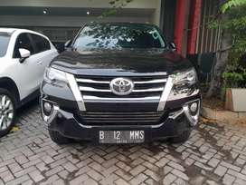 Toyota Fortuner Vrz at diesel 2018, dp 50jt /angs 10.920.000