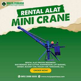 Sewa Alat Proyek Mini Crane