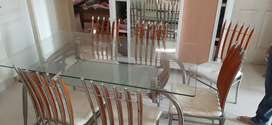 6 chairs dinning set