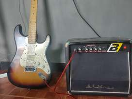 Gitar mrk fender plus salon
