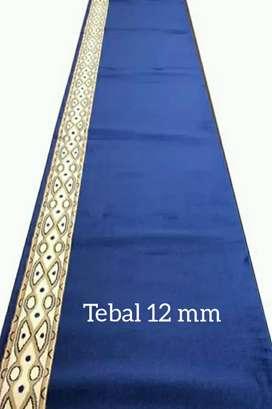 Karpet murah masjid/musholla tipe minimalis pasang Karawang