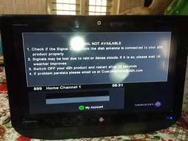 Videocon d2h LCD TV 32 inches in EXCELLENT condition