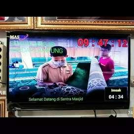 JAM SHOLAT TV LED MURAH