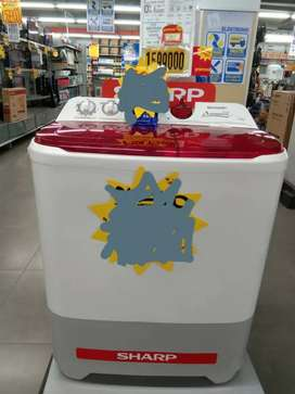 Promo mesin cuci sharp 10 kg