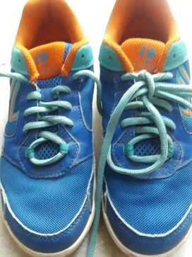Badminton Shoes (Decathlon, UK 2.5 size)