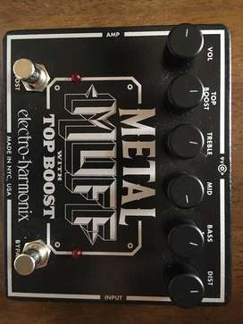 Electro harmonix - metal muff with top boost distortion pedal