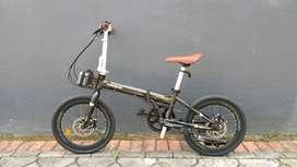 Sepeda Lipat Folding Pacific Splendid 300