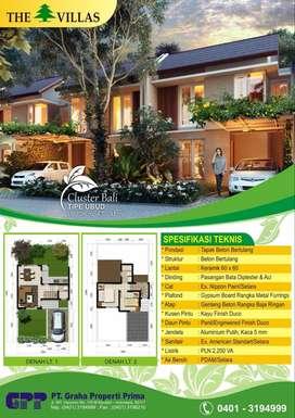 The Villas Kendari - DP 10% 2x, Angs 5 Jt