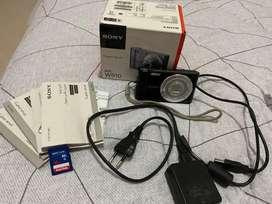 KAMERA DIGITAL SONY DSC W810 SECOND FULLSET MEMORI SDHC 16 GB NOMINUS