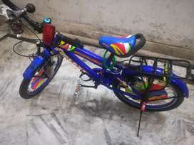 18 size bycicle is available for sale