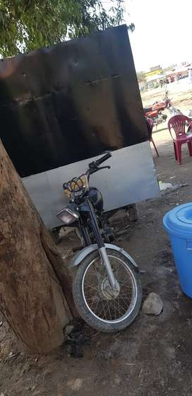 Small container fixed on riksha