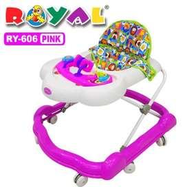 Perlengkapan Anak Balita Baby Walker Royal RY-606 S