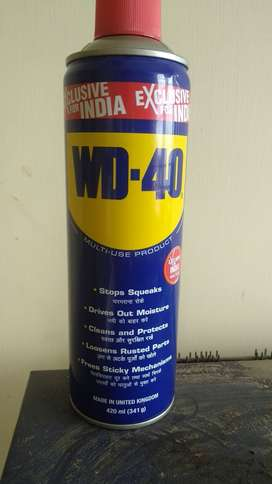 WD-40 Rust cleaner,All in one
