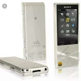 Sony a-25 hi res audio walkman 16 gb with expandable 128 gb