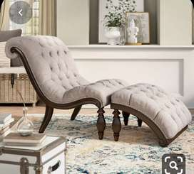 Luxury Design Easy chair for bed room with 5 years of warranty