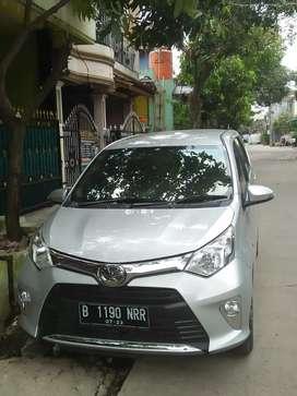 Toyota Calya 2018 m/t like new siap gas