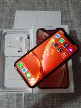 Jual iphone xr 64gb mulus cilla batrei 97% bisa tt