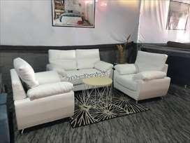sofa tamu 2 1 1 model sandaran dobel