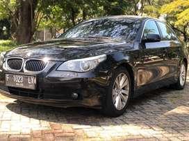 Bmw 520i e60 2005 Black AT mint kondition