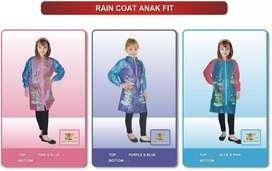 Jas hujan anak jubah FIT