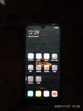 Redmi 7 with box and original charger.