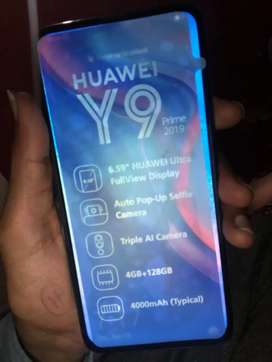 I want to sale my mobile y9 prime with full box