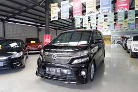 (LOW KM 50rban) Toyota Vellfire ZG PS Premium Sound AT 2013 / 2014