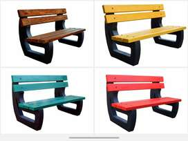 Park Cement Benches