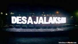 Buat Huruf Nyala Plang Papan Nama Neon box Sticker Reklame Stiker logo