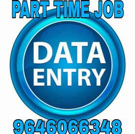 Opening for a best online part time jobs.. Data entry back office jobs