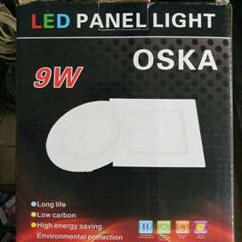 Lampu led panel 9 watt oska
