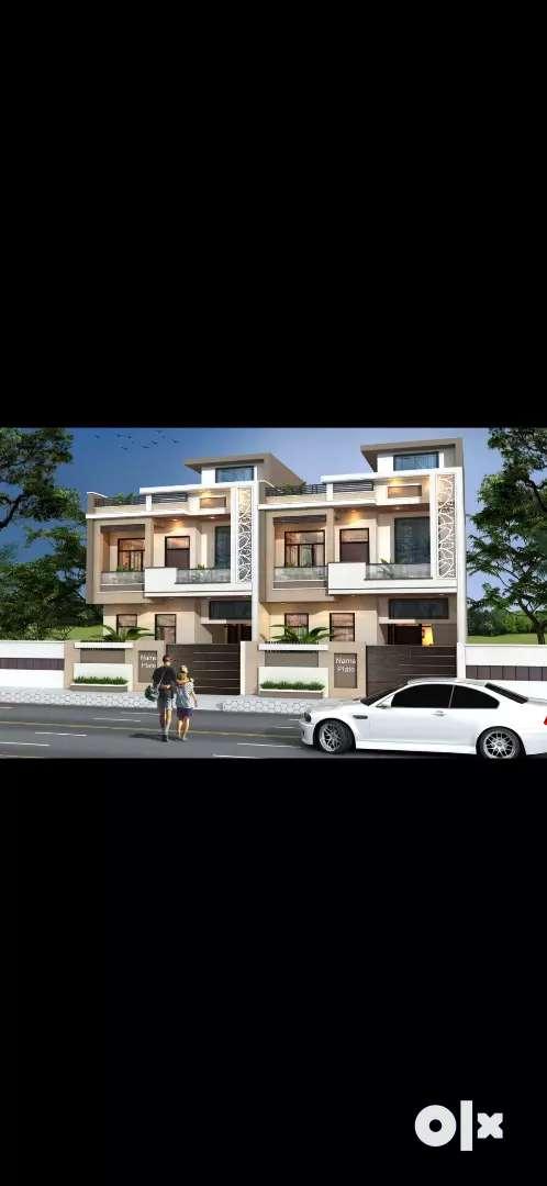 5bhk luxurious 175sqyd villas  nearby mansarowar metro station 4sale
