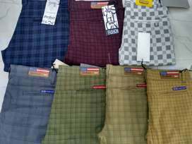 Men's check pant at Rs 350 only wholesale rate Mae