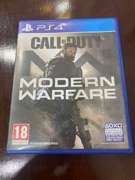 Call Of Duty Modern Warfare 2019 Ps4 Disk (COD MW 2019)