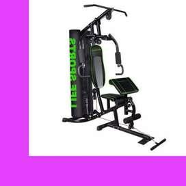 home gym 1 sisi ID-804 R-77 alat beban II treadmill sepeda statis