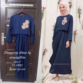 Drappery dress by simplystore
