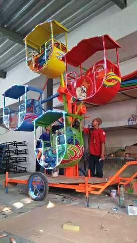 DAP kincir mini Mainan eskavator beko keruk capit