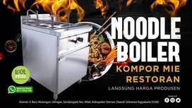 Mesin Noodle Boiler Stainless Alat rebus mie ukuran 4 lubang pekanbaru