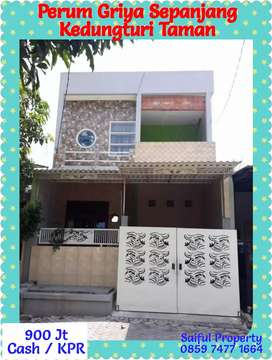 Rumah Idaman 2 Lantai Siap Huni Perum Griya Taman Kedungturi Taman