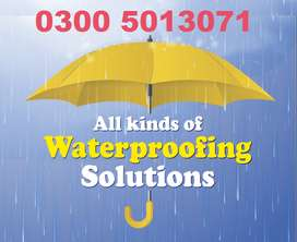 Roof Water proofing | Leakage & Seepage Solution