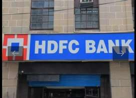 Joining for hdfc bank male and female candidate