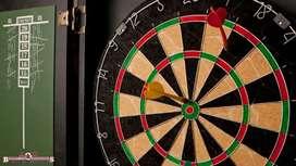 New conditioning dart board with original box