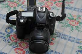 Nikon d90 with 28-80 and battery grip