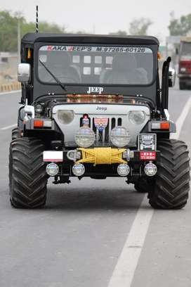 Willys jeeps and thars
