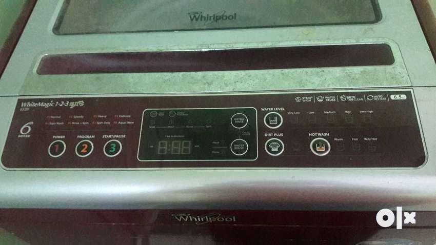 Whirlpool washing machine 6.5kg 0