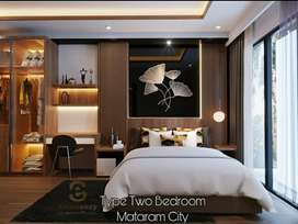Apartemen Mewah Premium Hook Murah MataramCity 2BADROOM Terbesar jogja