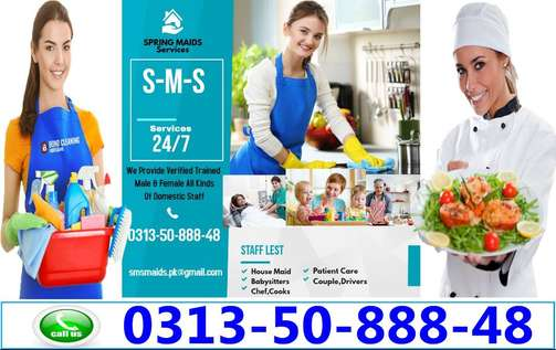 Spring Maids Services Provide Expert All Kinds Of Domestic Staff