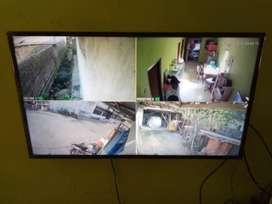 Rekam 24 Jam Non stop Cctv Hikvision 2mp 4ch