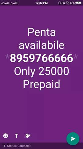 Penta Number available donts time pass